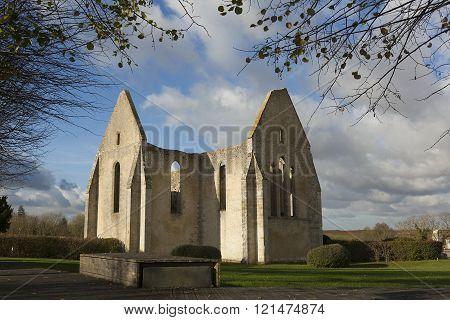 Ancient church in Yevre-le-chatel Loiret Centre-Val de Loire France