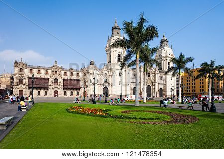 Basilica Cathedral, Lima