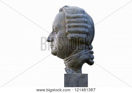 Bust Lomonosov M. V.