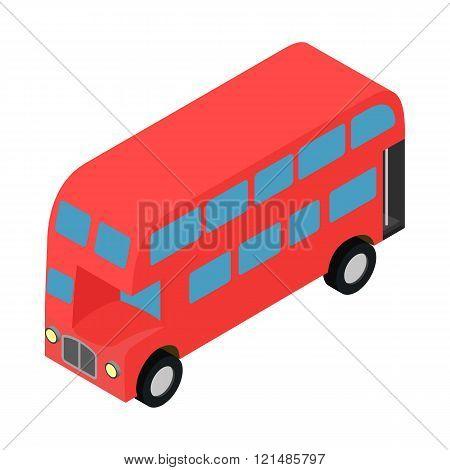 London double decker red busicon