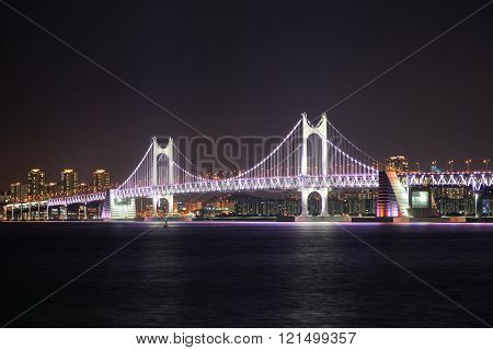 Gwangan Big Suspension Bridge