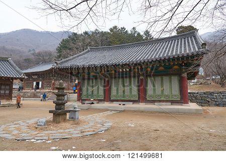 Jijangjeon In Bogwangsa Temple