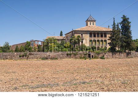 Old Villa In Catalunya (spain)