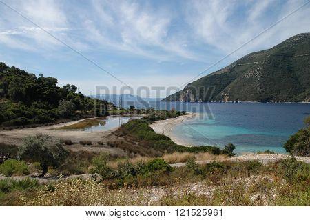 Meganissi landscape, Lefkada, Greece