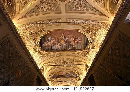 The Vatican Library, Vatican Museum, Vatican City