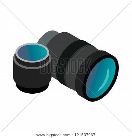 Interchangeable lens digital camera icon