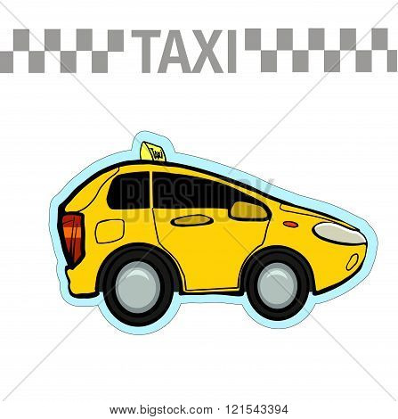Perfect for your ideas advertising banner taxi service.