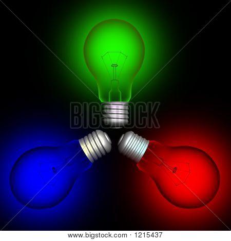 Color  Lightbulbs#2