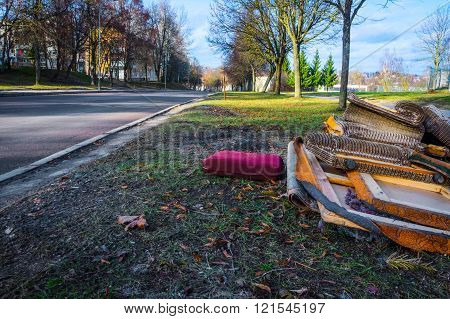 Bulky Waste On The Street