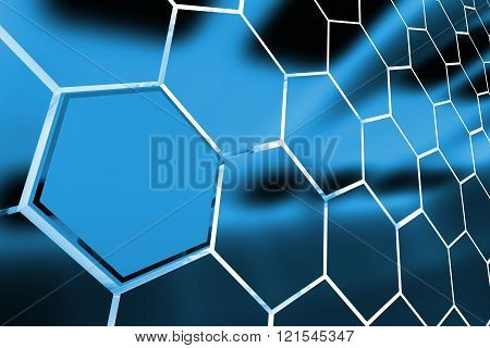 Abstract Clusters Backdrop