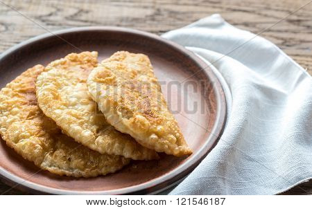 Meat Patties On The Plate