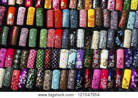 Nail samples