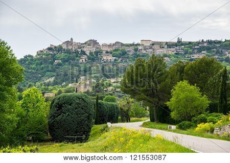 Village Of Gordes In The Provence