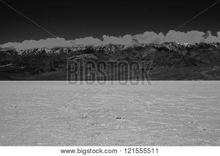 Salt Fields in Death Valley