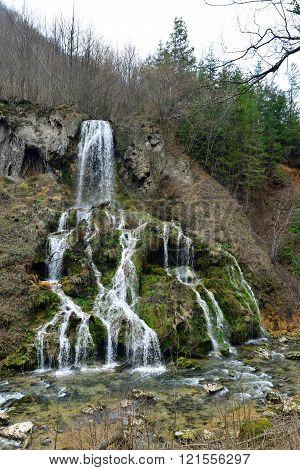 Carsa Romania Waterfall