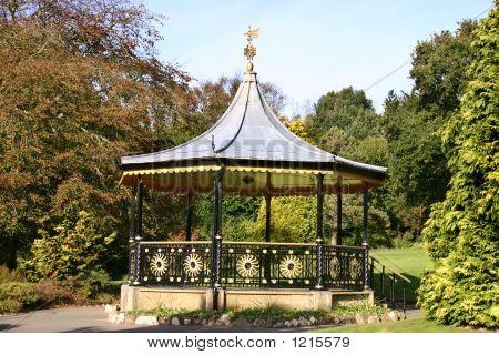 Bandstand, Victoria Gardens, Truro, Uk