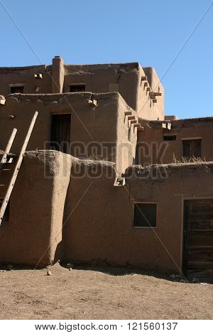 Dwelling at Taos Pueblo
