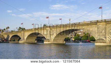 London Bridge In Lake Havasu, Old Historic Bridge