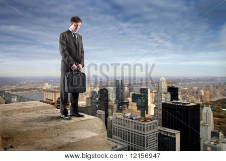 businessman suicide