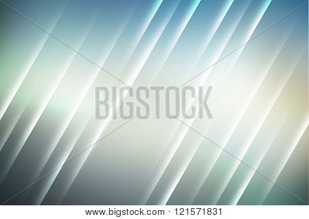 Cool colors with lines used to create abstract background