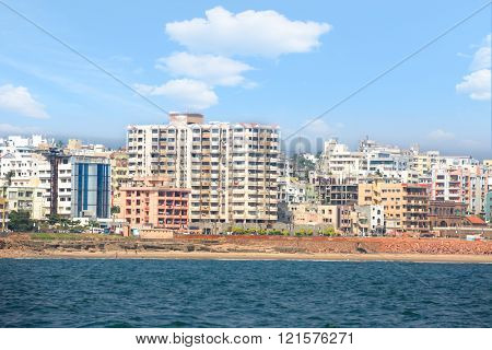 Visakhapatnam, INDIA - December 7 : Visakhapatnam's economy ranks as the tenth-largest among Indian cities, with a GDP of $26 Billion. On December 7,2015 Visakhapatnam, India