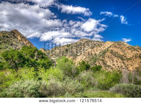 Mountains at Towsley Canyon in Southern California