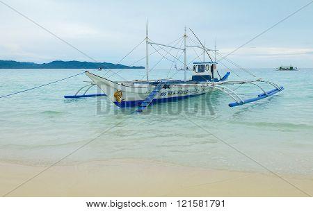 Spider Boat Or Janggolan