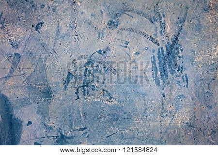 Chaotic Blue Background