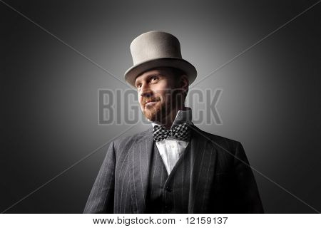 half-length portrait of a gentleman