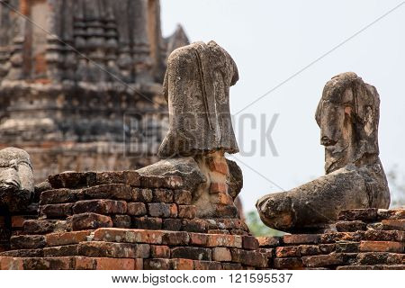 Headless Statues Of Buddha, Ayutthaya