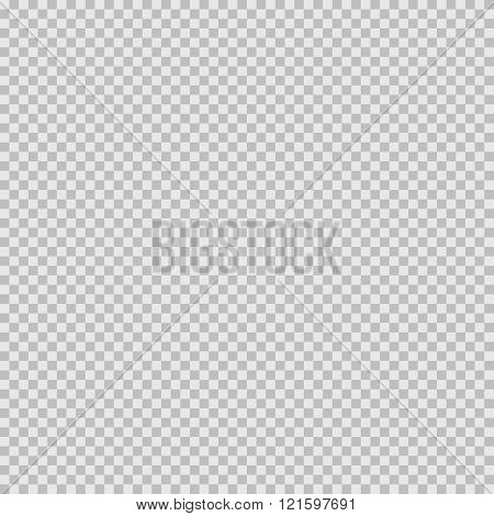 Grid transparency effect. Seamless pattern with transparent mesh. Light grey