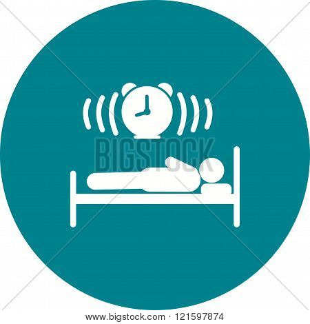 Sleeping, baby, bed icon vector image. Can also be used for humans. Suitable for web apps, mobile apps and print media.