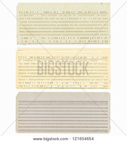 Punched Card Vintage
