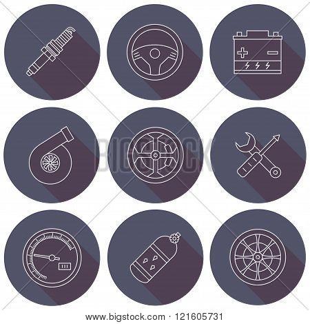 Car Icon, Object Car