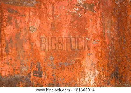 Rusty Textured Metal Background