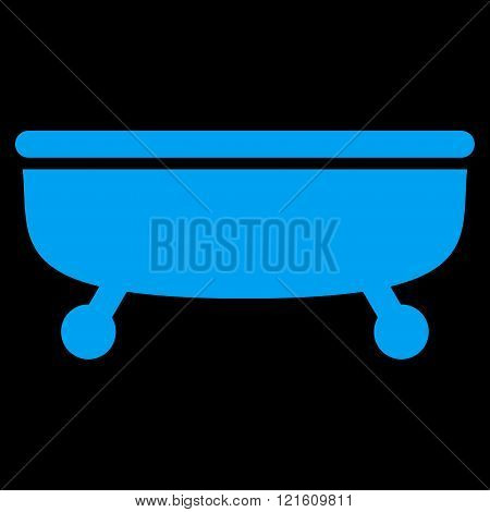 Bathtub Flat Vector Symbol