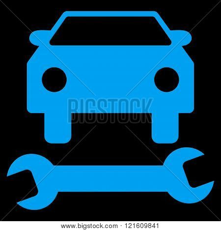 Car Repair Flat Vector Symbol
