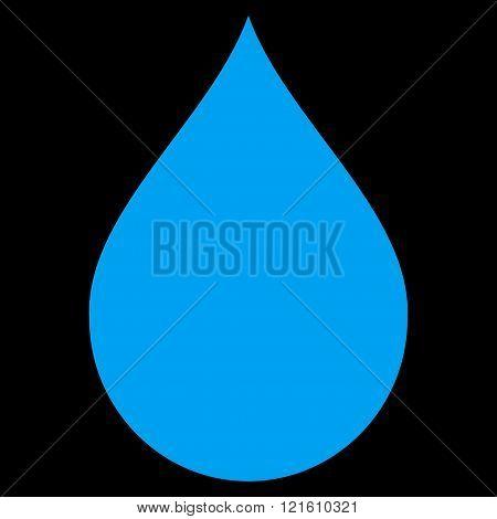 Drop Flat Vector Symbol