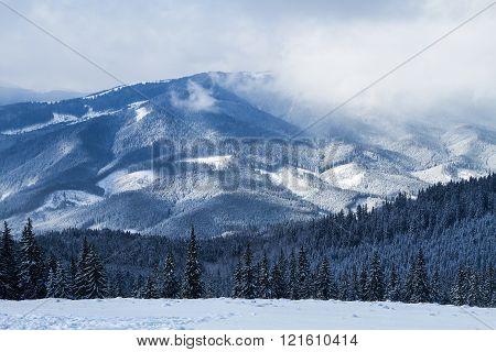 Ski Resort Bukovel, Ukraine.