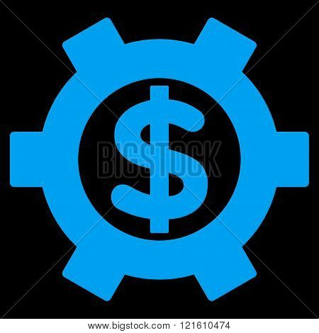 Financial Settings Flat Vector Symbol