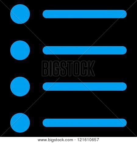 Items Flat Vector Symbol