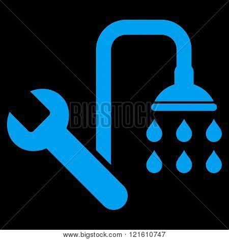 Plumbing Flat Vector Symbol