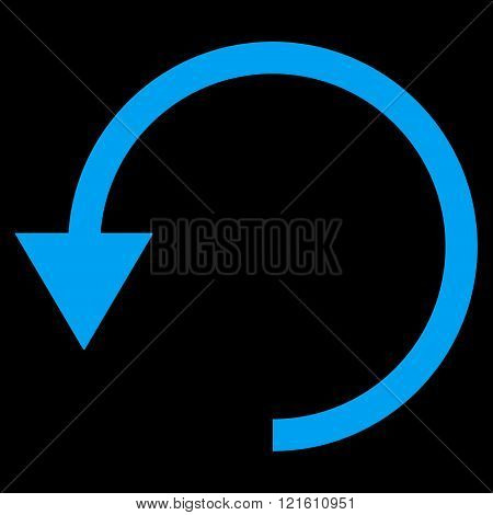 Rotate Ccw Flat Vector Symbol