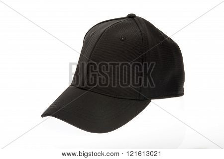 Men's black golf cap