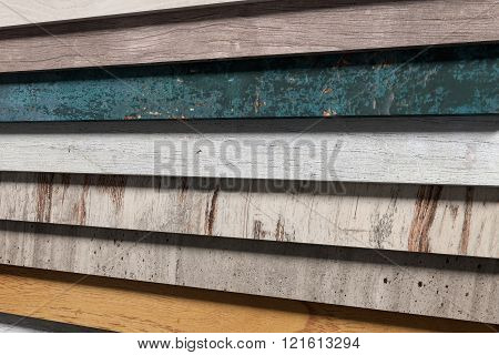 Stripes Of Different Material