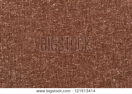 Abstract Speckled Texture Rough Fabric Of Dark Sepia Color