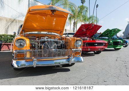 Chevrolet Bel Air, Camaro Rs And Camaro Z28