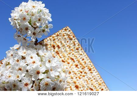 Jewish Holiday Of Passover And Matzo