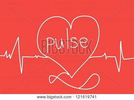 Cardiogram Heart Pulse