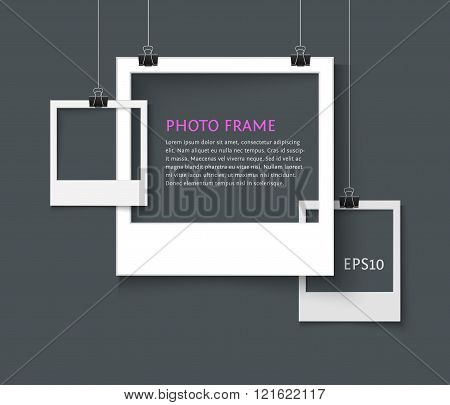 old style photo frame